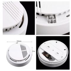 WIRELESS SMOKE DETECTOR FIRE ALARM PENDETEKSI ASAP PHOTOELECTRIC